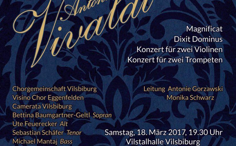 Antonio Vivaldi – Magnificat und Dixit Dominus